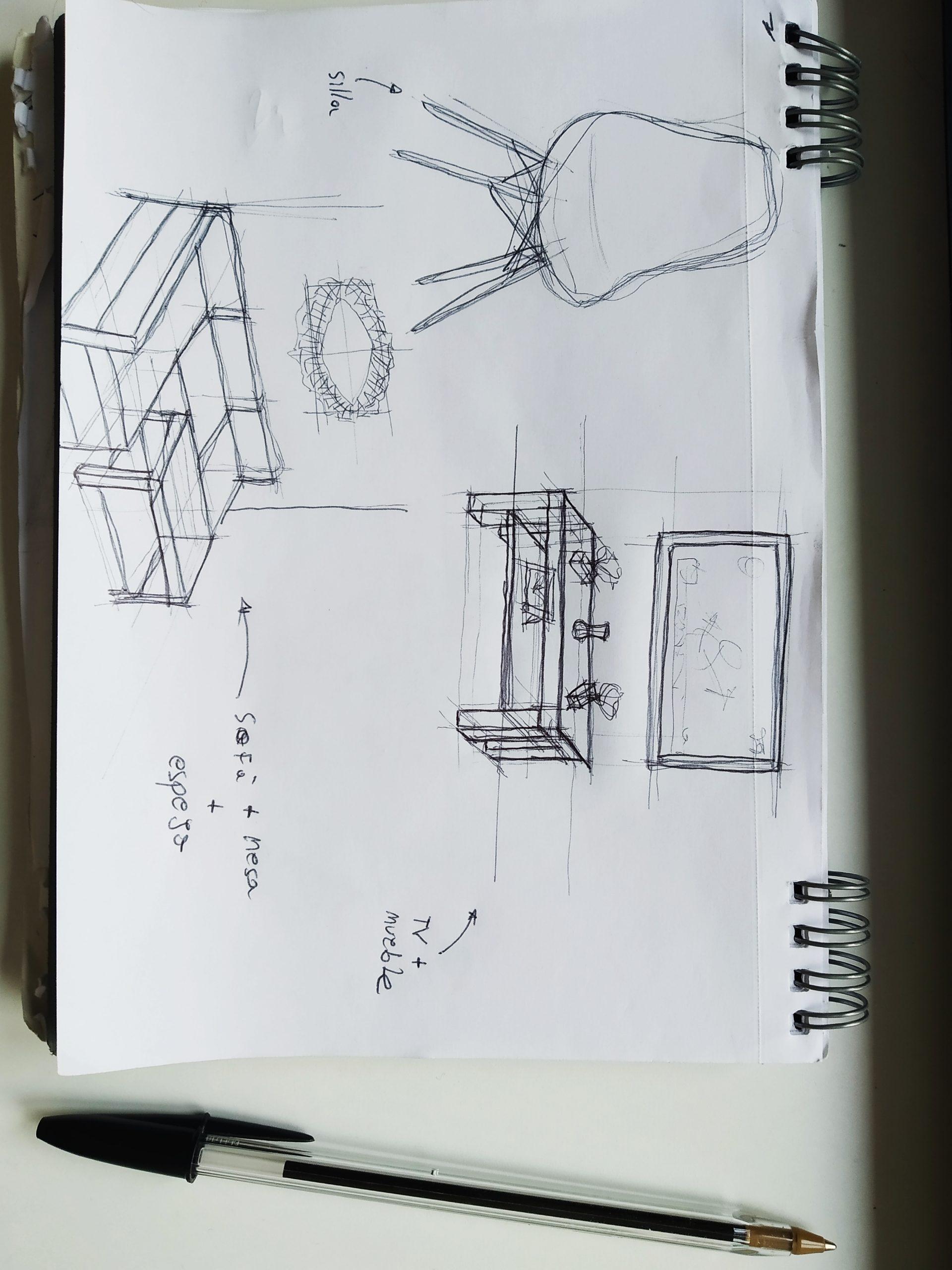 Mobiliario variado